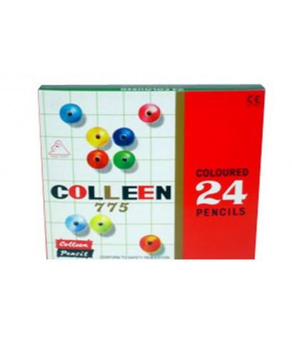 สีไม้ colleen 24 สียาว