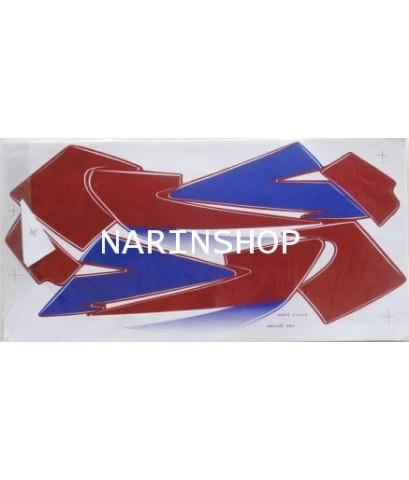สติกเกอร์ HONDA-NSR-R  ปี 2000 ติดรถสีแดง
