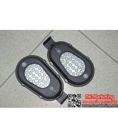 โคมไฟผนังโซล่าร์เซลล์ 3w IWACHI มอก. แสงวอร์มไวท์ (GE-2003)