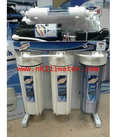 เครื่องกรองน้ำดื่มอาร์โอ RO. ทรีทตัน treatton 5 ขั้นตอน