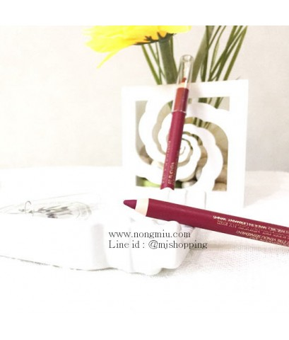 Tester : Estee Lauder Double Wear Stay-in-Place Lip Pencil 0.8g. ~ no.02 Fuchsia