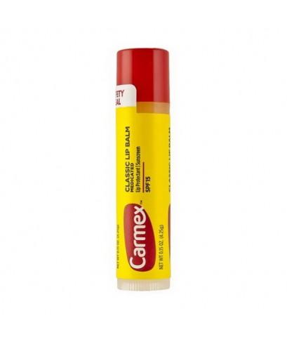 *พร้อมส่ง* CARMEX Classic Lip Balm Medicated SPF15 จาก USA 4.25g. แบบแท่ง