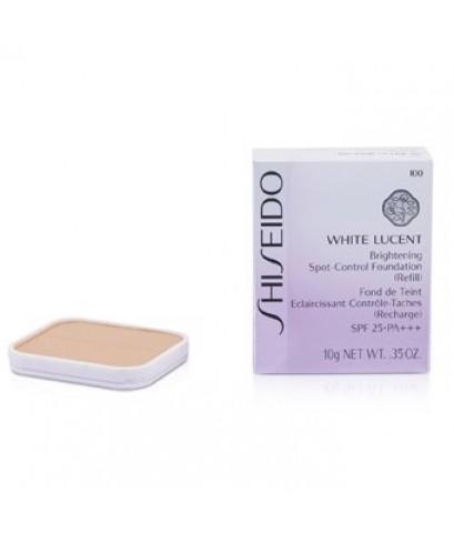 *พร้อมส่ง* -35 Shiseido White Lucent Brightening Spot-Control Foundation รีฟิลแป้ง No.I00