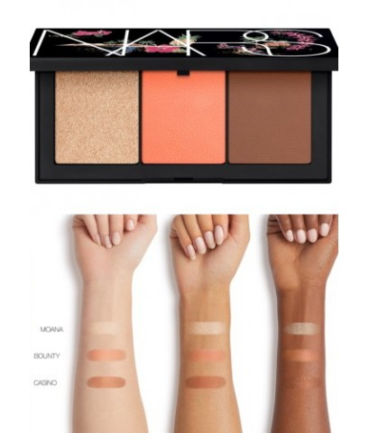 Pre-order : Limited Edition! NARS Private Paradise Face Palette ~ MOTU TAPE โทนส้ม
