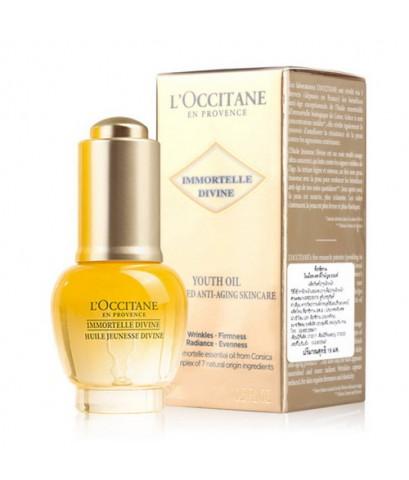 Pre-order : L\'Occitane IMMORTELLE DIVINE YOUTH FACE OIL 15ml.