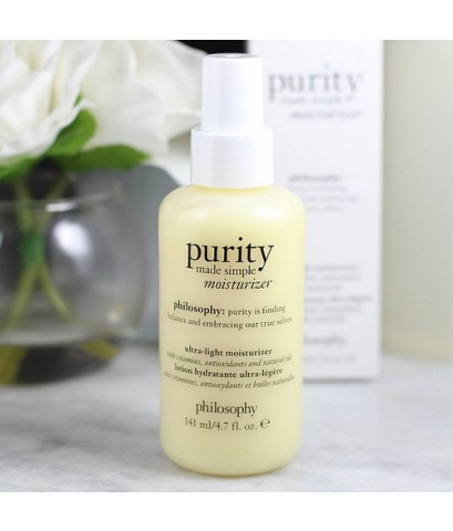 Pre-order : PHILOSOPHY Purity Made Simple Ultra-Light Moisturizer 141ml.