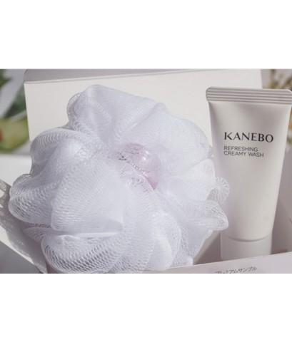 Tester : Kanebo REFRESHING CREAMY WASH 20g. with Foaming Mesh