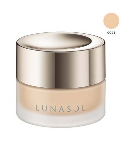 *พร้อมส่ง* -25 *New* Lunasol GLOWING SEAMLESS BALM SPF15 PA++ 30g. ~ OC03