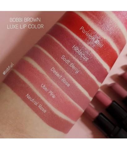 Pre-order : BOBBI BROWN LUXE LIP COLOR 3.8g. ~ ขนาดปกติ พร้อมกล่อง สั่งสีได้ค่ะ