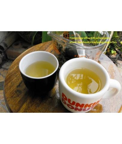 ชาอู่หลงก้านอ่อน กลิ่นยอดน้ำค้าง [Au-long tea]