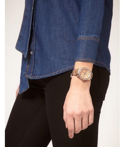 นาฬิกาข้อมือผู้หญิง Fossil รุ่น ES3003 Stella Stainless Steel Watch - Rose