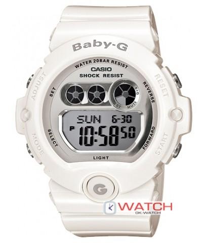 นาฬิกาข้อมือ Casio Baby-G รุ่น BG-6900-7DR ของแท้ ของใหม่ รับประกัน 1 ปี
