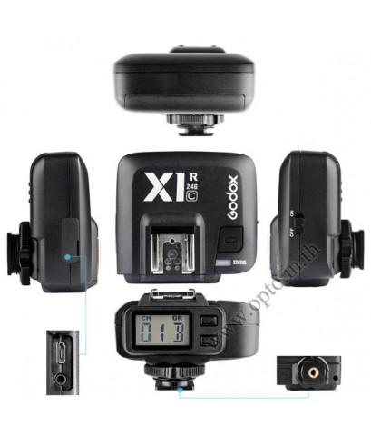 Godox X1R-C Auto TTL 2.4Ghz Wireless Trigger RX for Canon Flash speedlite ตัวรับแฟลชไร้สายแบบออโต้