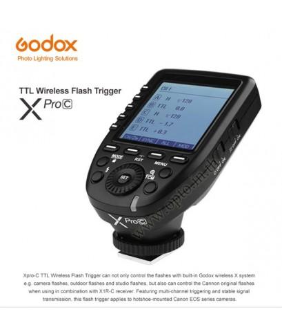 XPro-C XProC Godox Trigger Canon Auto TTL Wireless Remote Control Flash  ทริกเกอร์โกดอกโปรแคนนอน