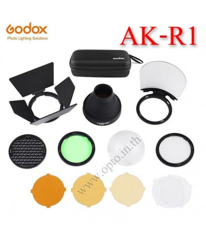 AK-R1 Godox Accessory Kit Honeycomb Snoot Diffuser+Filters For H200R S-R1 V1