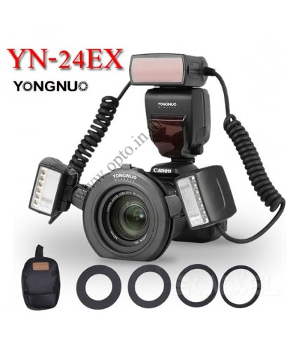 YN-24EX Twin TTL Macro Ring flash for Canon ริงแฟลชแบบออโต้2หัว
