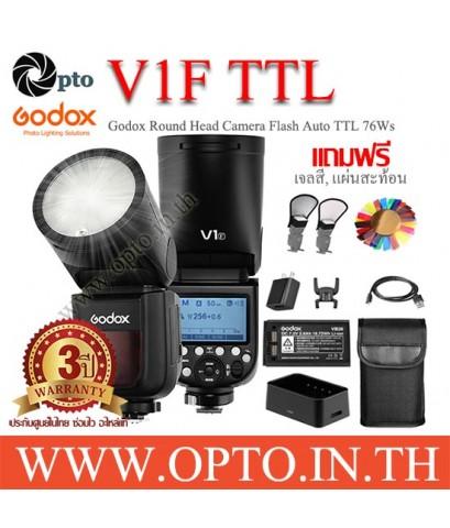 V1F Godox Flash Auto TTL For Fuji V1 Series with Battery แฟลชโกดอกพร้อมแบตเตอรี่