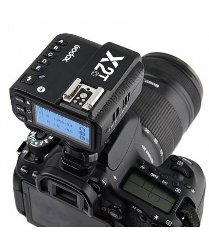 X2T-C Godox TTL Wireless Flash Trigger for Canon X2 Series แฟลชทริกเกอร์ ตัวส่งแฟลชไร้สายแบบออโต้