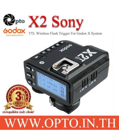 X2T-S Godox TTL Wireless Flash Trigger for Sony X2 Series แฟลชทริกเกอร์ ตัวส่งแฟลชไร้สายแบบออโต้