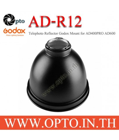 AD-R12 Godox Telephoto Reflector Godox Mount for AD400PRO AD600 AD600M