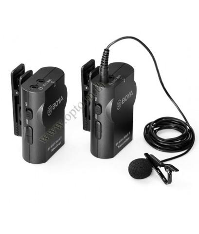 BY-WM4 Mark II Wireless Boya Microphone for DSLR Cameras Smartphones ไมค์ไร้สายสำหรับกล้องและมือถือ