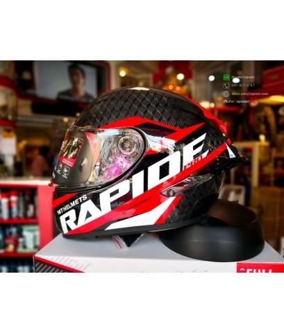 หมวกกันน็อค MT RAPIDE PRO 3D CARBON