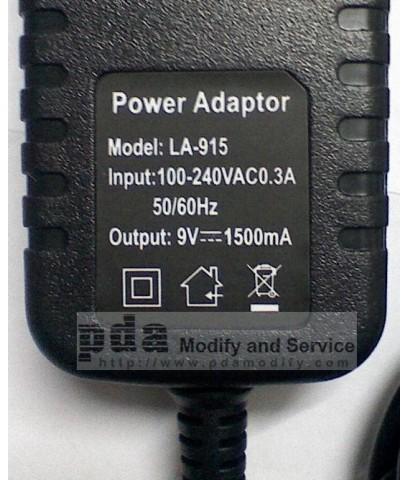 Wall charge แท็ปเล็ตจีน MID VIA8650 ขนาด 7นิ้ว