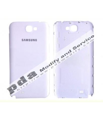 ฝาหลัง Original Back Cover Housing Samsung Galaxy Note N7100 White