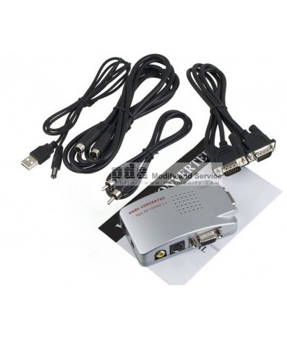 แปลง PC VGA / Notebook VGA to TV Video / video