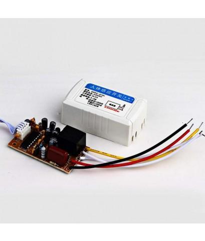 สวิทช์ตรวจจับความเคลื่อนไหว PIR Motion Switch 220 VAC