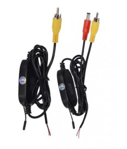 เครื่องส่งภาพไร้สาย กล้องมองหลังรถยนต์ Wireless Parking Car B ackup RCA Video 2.4 Ghz