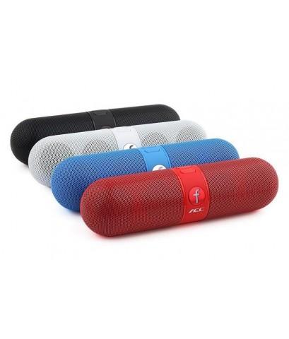 ลำโพง Hi-Fi Bluetooth, Hand free, FM, เครื่องเล่น MP3 รุ่น F808 (สีขาว)