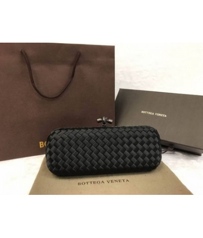 Bottega Veneta STRETCH KNOT IN BLACK INTRECCIO IMPERO, AYERS DETAILS