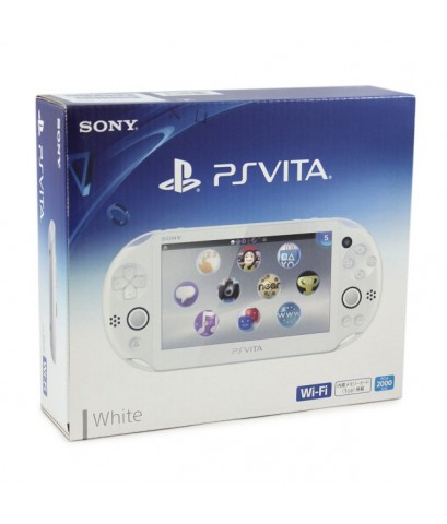 PS Vita 2000 Wifi White FW 3.60