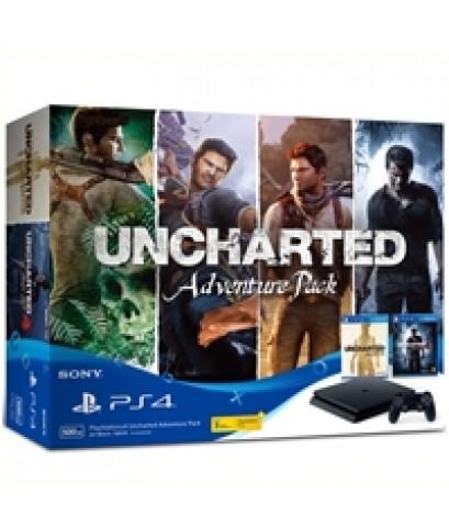 PS4 Slim 500G Uncharted Adventure Pack ประกันศูนย์ไทย 2 ปี