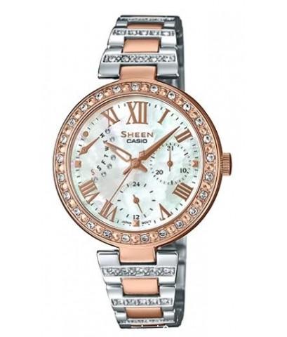 นาฬิกาผู้หญิง SHEEN รุ่นพิเศษ SHE-3043SPG-7B สายสแตนเลสสีเงิน