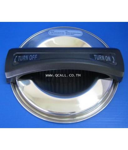 ถังต้มน้ำร้อนดิจิตอล หม้อต้ม6.8ลิตรพร้อมที่รองแก้วHouse Worthรุ่นEU-01 ตั้งอุณหภูมิได้ ส่งฟรีทั่วปท.