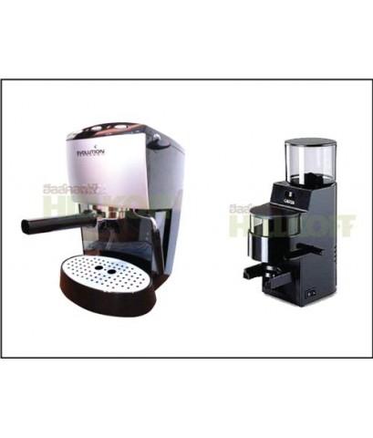 เครื่องชงกาแฟ GAGGIA EVOLUTION กาเจีย อีโวลูชั่น+GAGGIA MDF Grinder-Doser