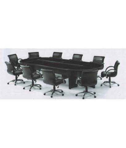 โต๊ะประชุม ERS จำนวน 10-13 ที่นั่ง ยี่ห้อ PERFECT ปิดผิว HIGH GLOSS