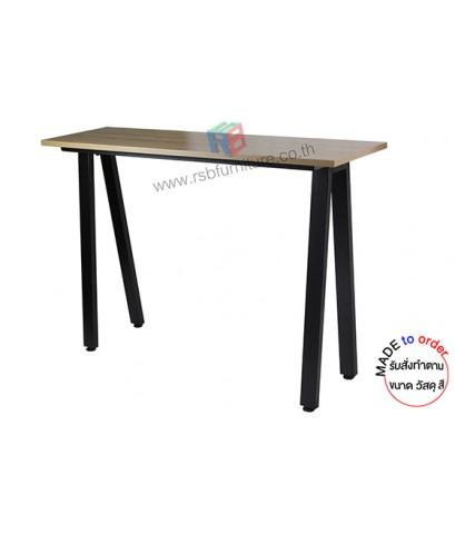 โต๊ะยืนทำงาน ขาเหล็กกล่อง รหัส 2846