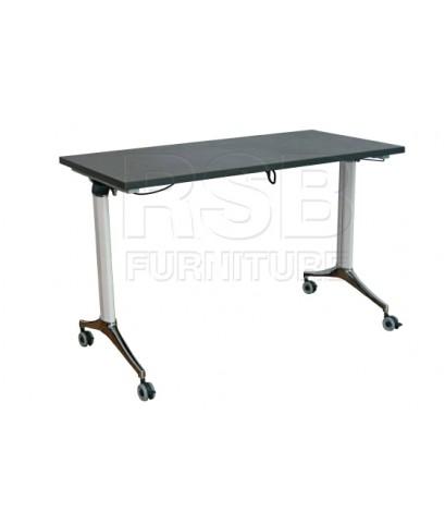 โต๊ะพับล้อเลื่อน รหัส 2860