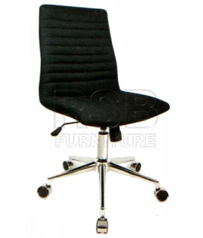 เก้าอี้สำนักงาน พนักพิงผ้า ไม่มีที่เท้าแขน รับน้ำหนัก 100 KG รหัส 2881