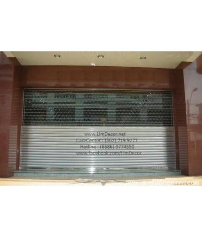 ประตูม้วนสแตนเลส Stainless Steel Shutter Gate