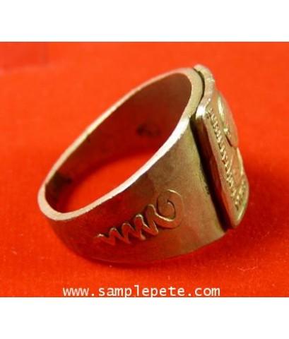 แหวนหลวงพ่อมุม วัดปราสาทเยอร์