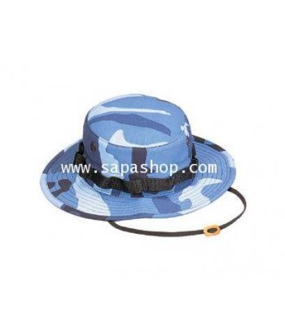 จำหน่าย หมวก ทหารพราน SKY BLUE CAMO สุดเท่ สำหรับ Men ราคาประหยัด (พรีออเดอร์)