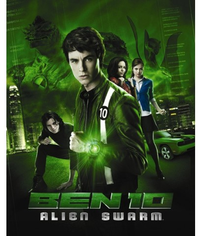 Ben 10 Alien Swarm : เบ็นเท็น ฝ่าวิกฤติชิปมรณะ DVD MASTER ZONE 3 1 แผ่นจบ