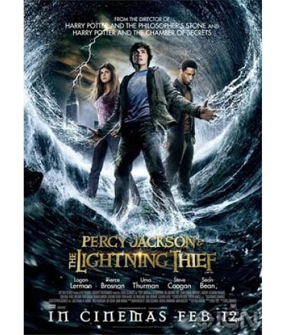 Percy Jackson  the Olympians : เพอร์ซี่ย์ แจ็คสัน กับสายฟ้าที่หายไป DVD MASTER ZONE 3 1 แผ่นจบ