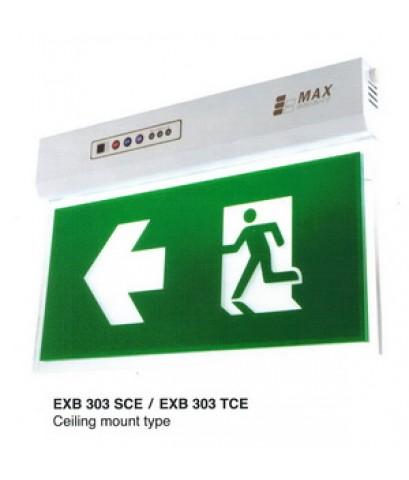 กล่องไฟทางหนีไฟ กล่องไฟทางออก ชนิดสลิมไลน์ Exit Sign Lighting Max Bright Slimline LED