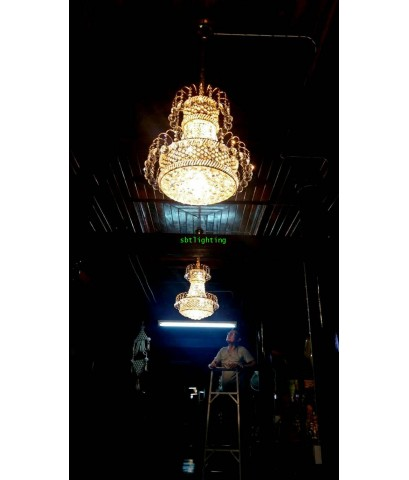 งานติดตั้งโคมไฟ ใน ศาลาไม้ วัดช่อม่วง เพรชบุรี nbsp;26  พฤศจิกายน   ปี 2561