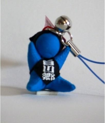 ที่ห้อยโทรศัพท์ตุ๊กตาซารุโบโบะจิ๋วแต่จี๊ด